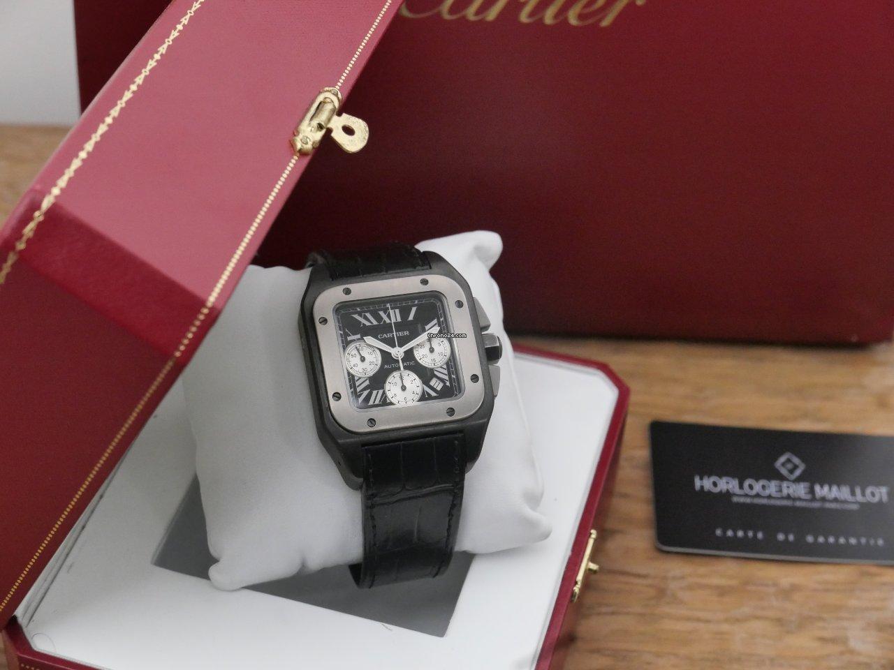Cartier Santos 100 W2020005 2016 подержанные