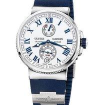 Ulysse Nardin Marine Chronometer Manufacture Сталь 43mm Белый Римские