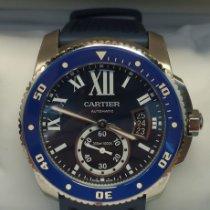 Cartier Calibre de Cartier Diver Сталь 42mm Черный Римские