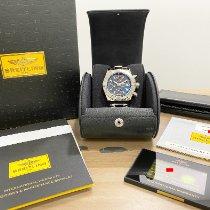 Breitling Avenger II pre-owned 43mm Black Chronograph Date Steel
