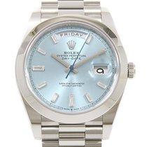 Rolex (ロレックス) デイデイト 40 新品 自動巻き 正規のボックス付属の時計 228206A
