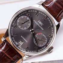 IWC IW500106 White gold 2013 Portuguese Automatic 42.3mm new