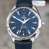Omega Seamaster Aqua Terra Steel 41.5mm Blue No numerals United States of America, Massachusetts, Boston