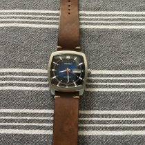 Seiko 5 Steel 39.5mm Blue No numerals United States of America, Pennsylvania, Lancaster