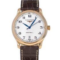 Longines Master Collection Rose gold 38.5mm Silver Arabic numerals United States of America, Maryland, Baltimore, MD