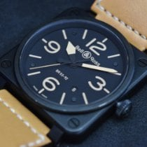 Bell & Ross BR 03 Steel 42mm Black Arabic numerals United States of America, New Jersey, East Brunswick