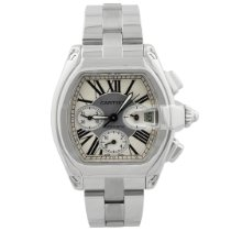 Cartier Roadster W62019X6 Very good Steel 49mm Automatic