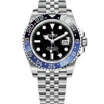 Rolex GMT-Master II Steel 40mm Black No numerals United States of America, Illinois, Chicago