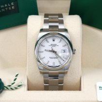 Rolex Oyster Perpetual Date Steel 34mm White No numerals United States of America, California, Los Angeles