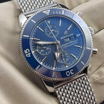 Breitling Superocean Heritage Steel 44mm Blue No numerals United States of America, Illinois, Chicago
