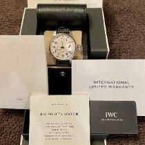 IWC Big Pilot Steel 46mm Silver Arabic numerals United States of America, California, San Dimas