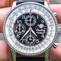 Breitling Montbrillant Olympus Steel 42.1mm Silver Arabic numerals