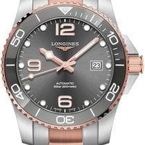 Longines HydroConquest Gold/Steel 41mm Grey United States of America, New York, Airmont