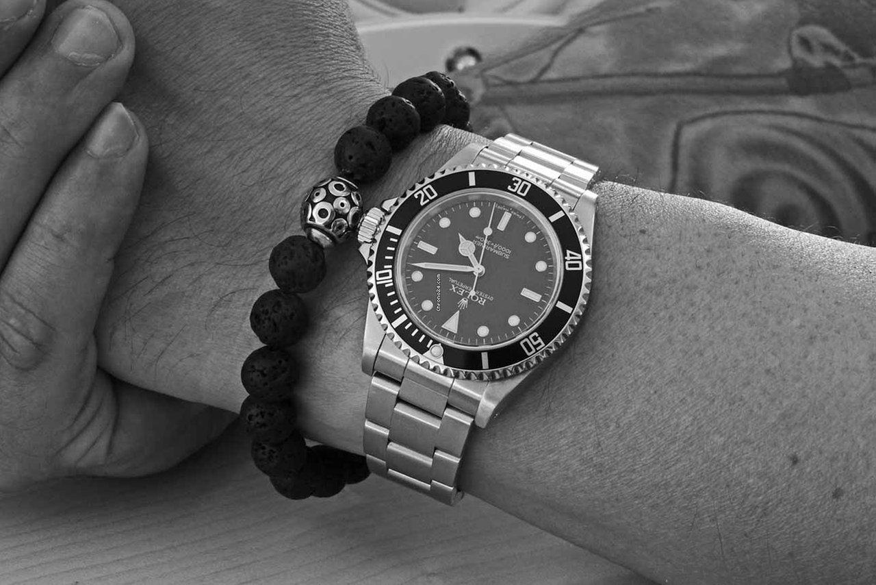 Rolex Submariner (No Date) 14060M 2008 подержанные