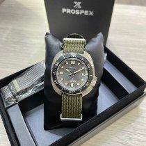 精工 Prospex 鋼 46.6mm 灰色 無數字 香港