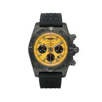 Breitling Chronomat 44 Blacksteel Сталь 44mmmm Желтый
