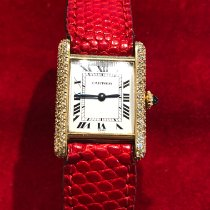 Cartier W1529756 Yellow gold Tank Louis Cartier 21mm pre-owned