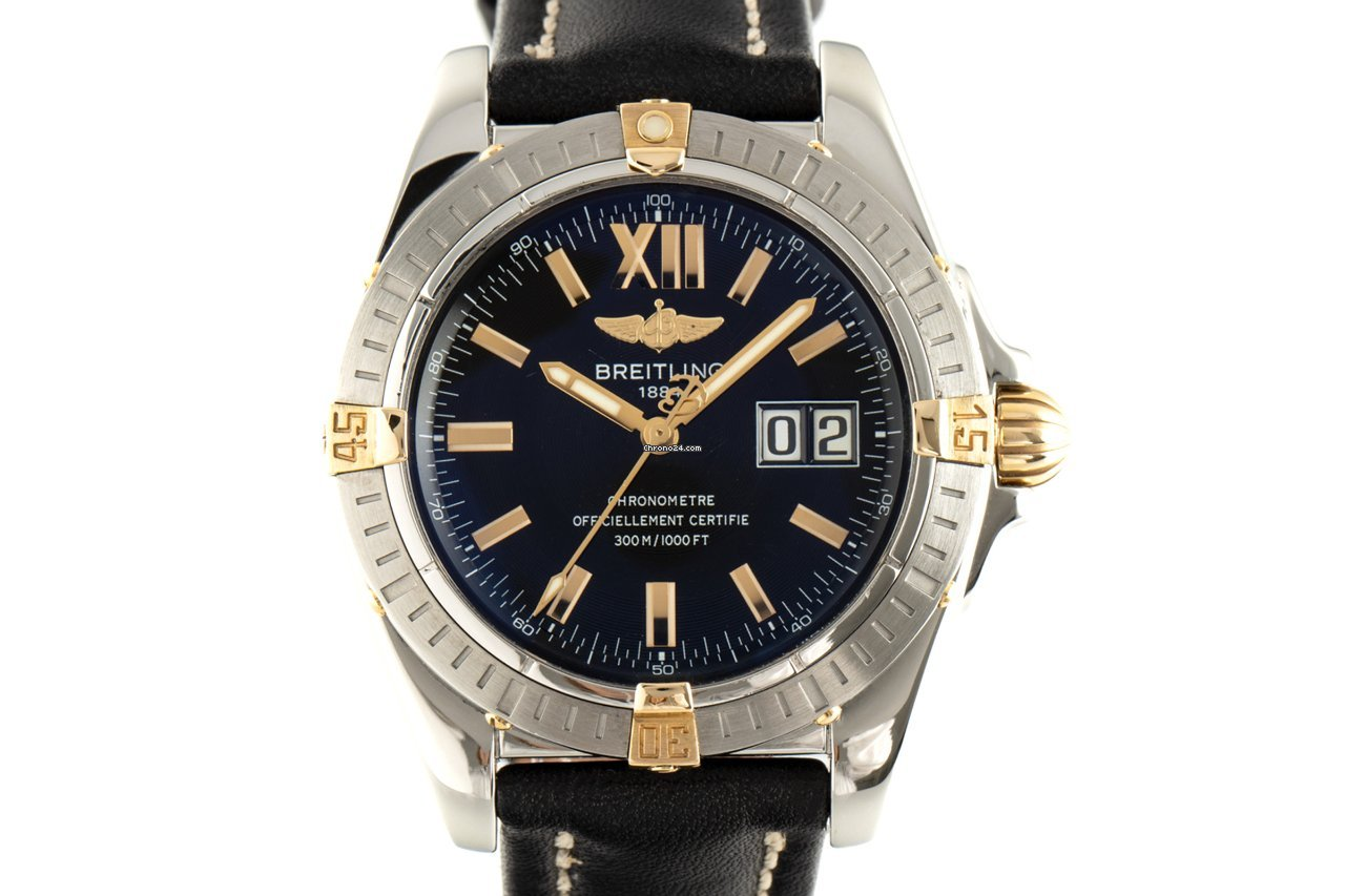 Breitling Galactic 41 B49350 2008 pre-owned