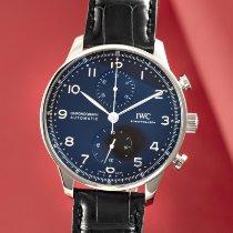 IWC Portuguese Chronograph Steel 41mm Black