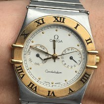 Omega Constellation Day-Date Staal 34mm Wit Romeins Nederland, Maastricht