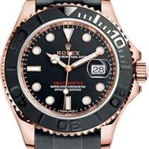 Rolex Yacht-Master 40 Rose gold 40mm Black No numerals Australia