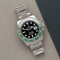 Rolex Submariner Date Steel 41mm Black No numerals Australia