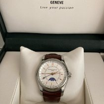 Frederique Constant Classics Moonphase occasion 43mm Date Cuir