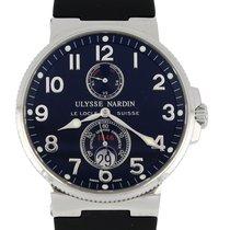 Ulysse Nardin 263-66 Çelik 2002 Marine Chronometer 41mm 41mm ikinci el