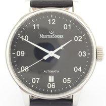 Meistersinger Scrypto Steel Black
