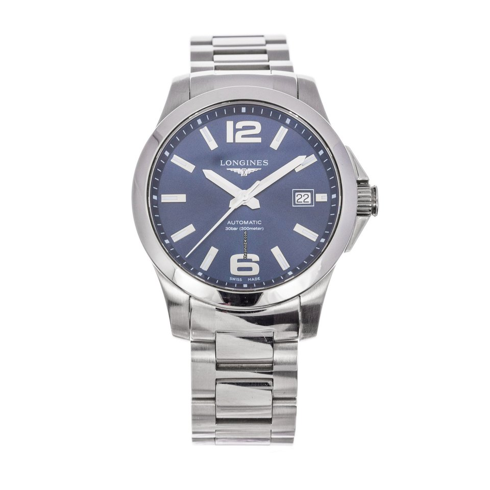 Longines Conquest L3.776.4.99.6 pre-owned