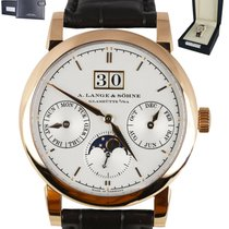 A. Lange & Söhne Saxonia Rose gold 38.5mm Silver United States of America, New York, Smithtown