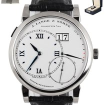 A. Lange & Söhne Grand Lange 1 White gold 42mm Silver United States of America, New York, Smithtown