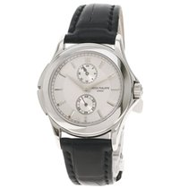 Bell & Ross White gold Manual winding Silver 40mm pre-owned