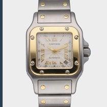 Cartier Santos Galbée 2423 Very good Gold/Steel 24mm Automatic