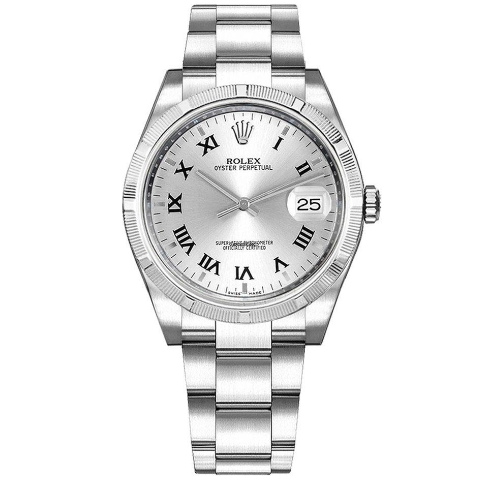 Rolex Oyster Perpetual Date 115210 подержанные