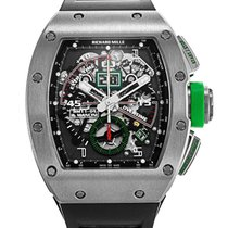 Richard Mille Titanium Automatic Grey Arabic numerals 42mm pre-owned RM 011