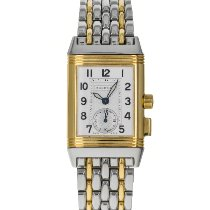 Jaeger-LeCoultre Reverso Memory Gold/Steel 23mm Silver Arabic numerals United States of America, Maryland, Baltimore, MD