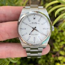 Rolex Oyster Perpetual 39 Steel 39mm White No numerals United States of America, California, Los Angeles