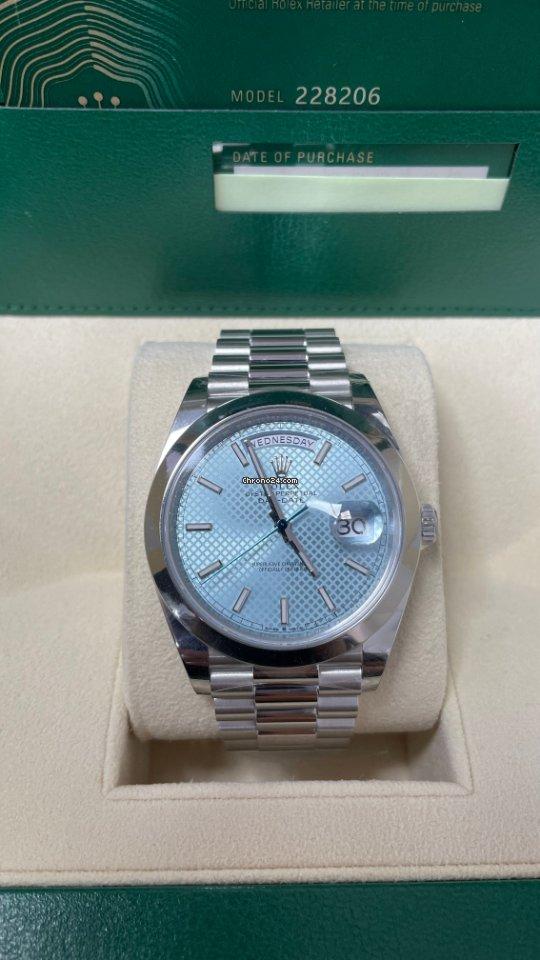 Rolex Day-Date 40 228206 2021 new