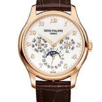 Patek Philippe Perpetual Calendar Chronograph Rose gold 40mm Silver