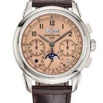 Patek Philippe Perpetual Calendar Chronograph nouveau 2020 Remontage manuel Montre avec coffret d'origine et papiers d'origine 5270P