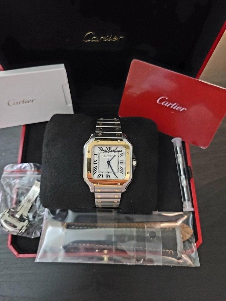 Cartier Santos (submodel) W2SA0016 2021 new