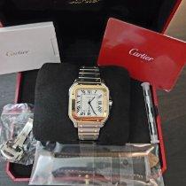 Cartier Santos (submodel) новые 2021 Автоподзавод Часы с оригинальными документами и коробкой W2SA0016