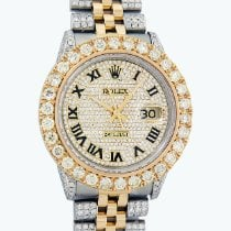 Rolex Lady-Datejust Goud/Staal 36mm Goud Romeins