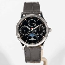 Jaeger-LeCoultre Steel 37mm Automatic 140.8.80.S pre-owned United States of America, Massachusetts, Boston