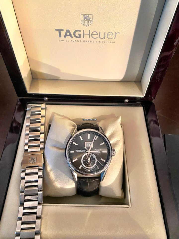 TAG Heuer Carrera Calibre 8 WAR5010.FC6266 usados