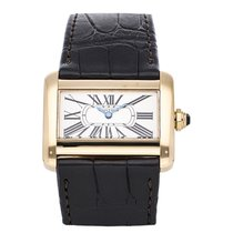 Cartier W6300356 Yellow gold Tank Divan 31.5mm pre-owned United States of America, Pennsylvania, Bala Cynwyd
