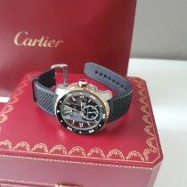 Cartier Calibre de Cartier Diver w7100055 Muito bom Ouro/Aço Automático Brasil, Vila Olímpia