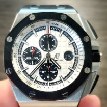 Audemars Piguet Royal Oak Offshore Chronograph Steel 44mm Silver No numerals United States of America, New Jersey, Holmdel