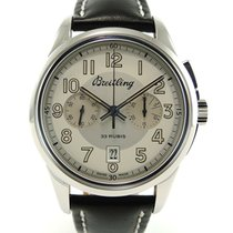Breitling Transocean Chronograph 1915 Staal 43mm